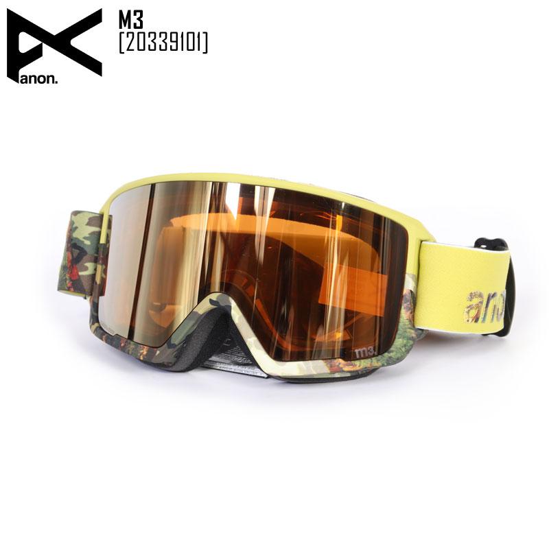 19-20 ANON アノン ゴーグル M3 スノボ スキー メンズ レディース