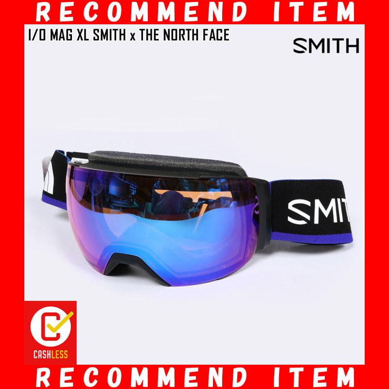 19-20 SMITH スミス ゴーグル I/O MAG XL SMITH × THE NORTH FACE スキー スノボ アジアンフィット ノースフェイス