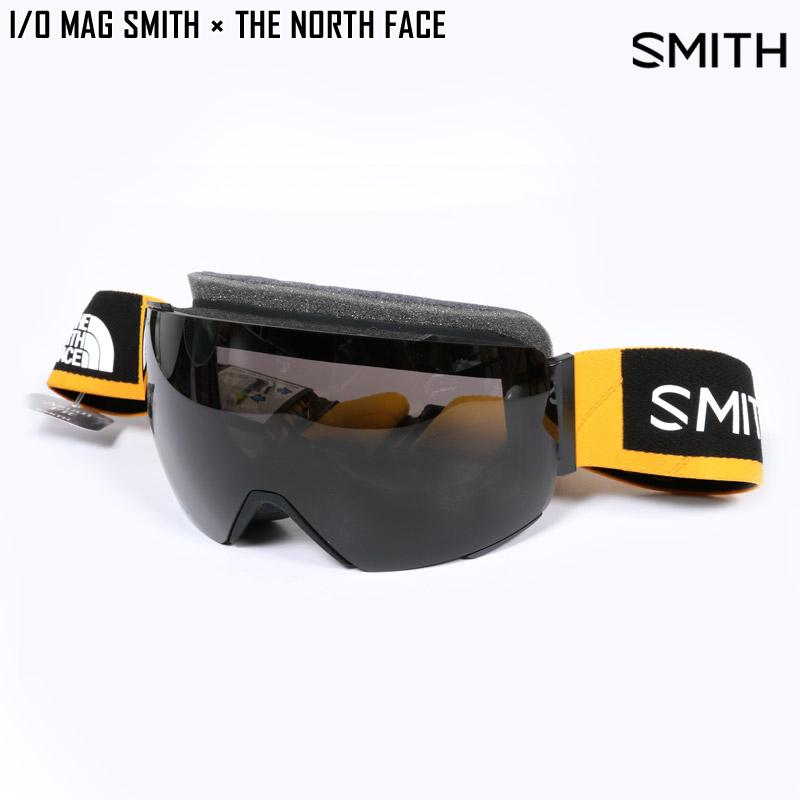 19-20 SMITH スミス ゴーグル I/O MAG SMITH × THE NORTH FACE スキー スノボ アジアンフィット ノースフェイス