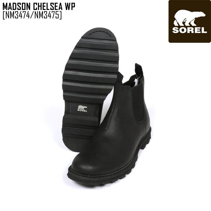 SALE セール SOREL ソレル スノーブーツ メンズ MADSON CHELSEA WP ブーツ スノーシューズ NM3474 NM3475