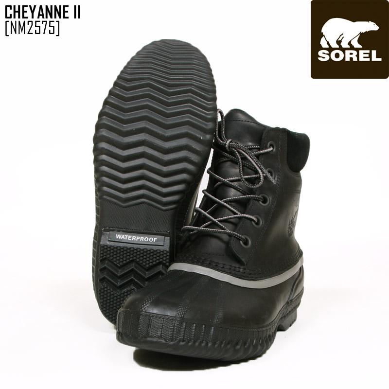 SOREL ソレル スノーブーツ メンズ CHEYANNE II ブーツ スノーシューズ NM2575