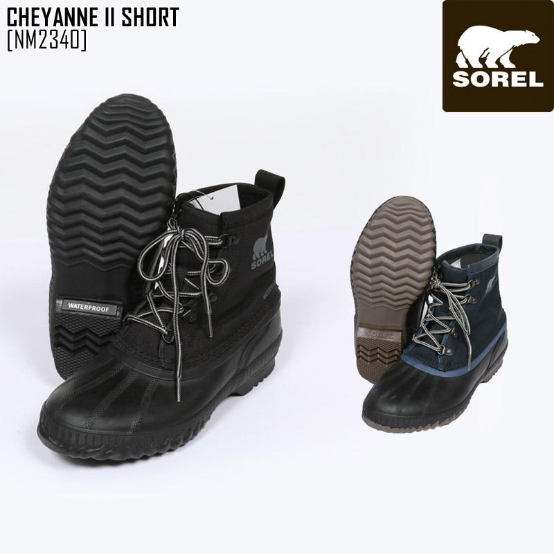 SOREL ソレル スノーブーツ メンズ CHEYANNE II SHORT ブーツ スノーシューズ NM2340