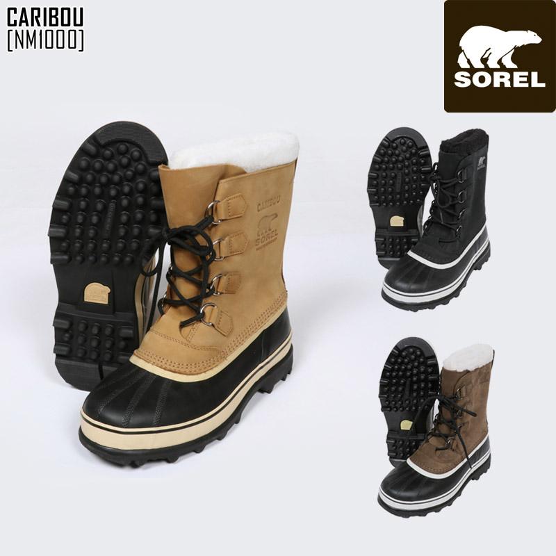 SOREL ソレル スノーブーツ メンズ CARIBOU カリブー スノーシューズ NM1000