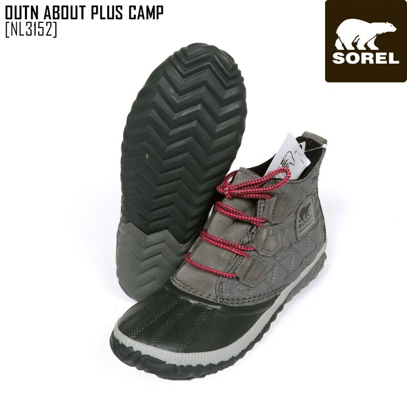 SALE セール SOREL ソレル スノーブーツ レディース OUTN ABOUT PLUS CAMP ブーツ スノーシューズ NL3152