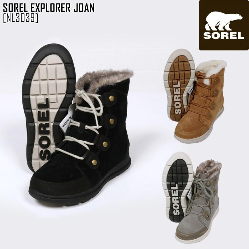 SOREL ソレル スノーブーツ レディース SOREL EXPLORER JOAN ブーツ スノーシューズ NL3039