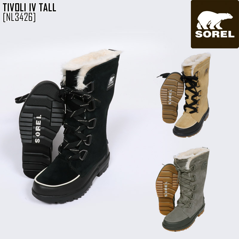 SOREL ソレル スノーブーツ レディース TIVOLI IV TALL ブーツ スノーシューズ NL3426