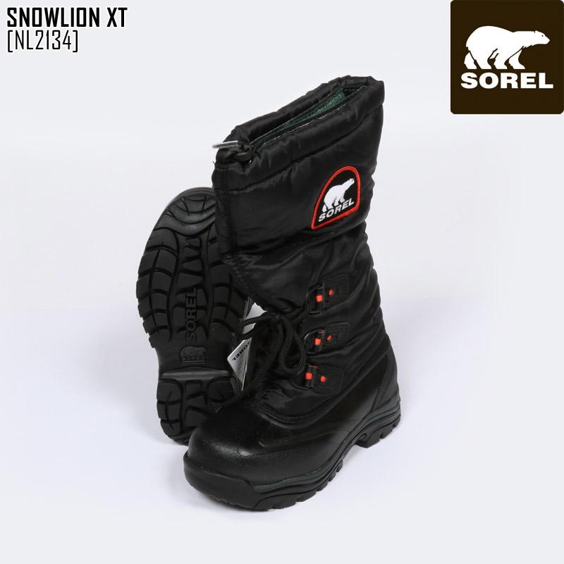 SOREL ソレル スノーブーツ レディース SNOWLION XT ブーツ スノーシューズ NL2134