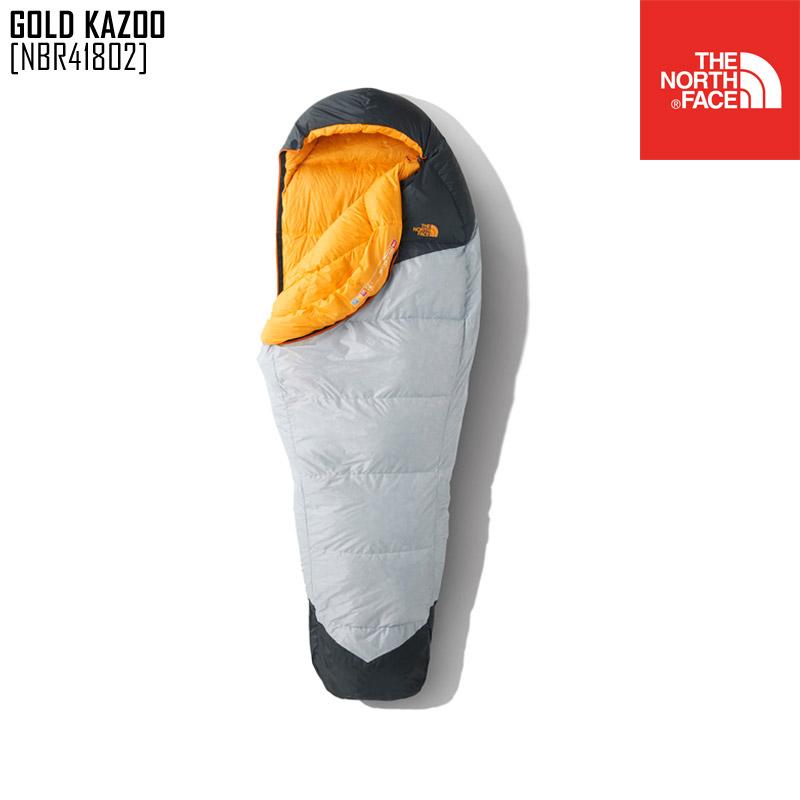 ノースフェイス NBR41802 シュラフ 寝袋 マミー型 メンズ レディース アウトドアブランド GOLD KAZOO
