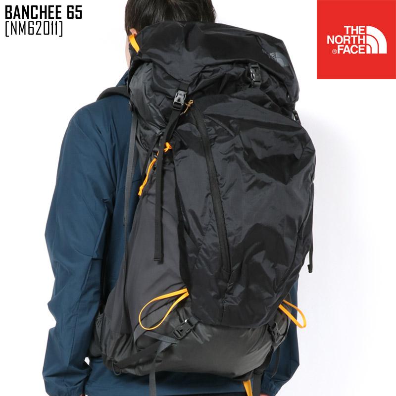 ノースフェイス NM62011 リュック バッグ メンズ 大容量 登山 アウトドアブランド BANCHEE 65