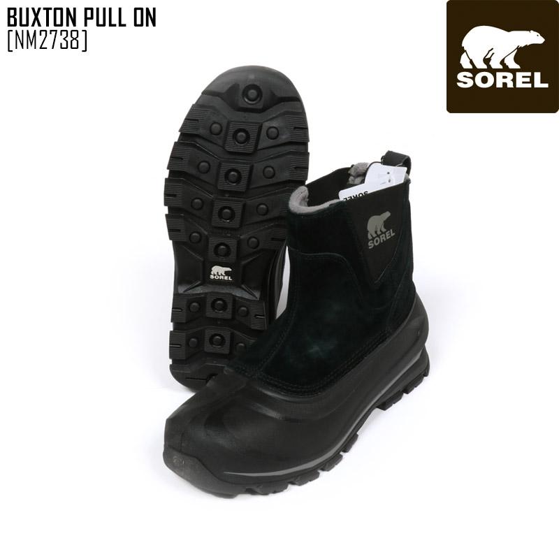2020 送料無料 ソレル SOREL 靴 ブーツ メンズ 新作 高品質 選択 プル オン ON バックストン BUXTON NM2738 PULL