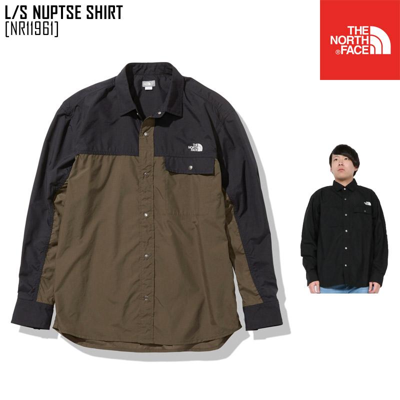 ノースフェイス ロングスリーブ ヌプシ シャツ L/S NUPTSE SHIRT シャツ ジャケット NR11961 メンズ レディース