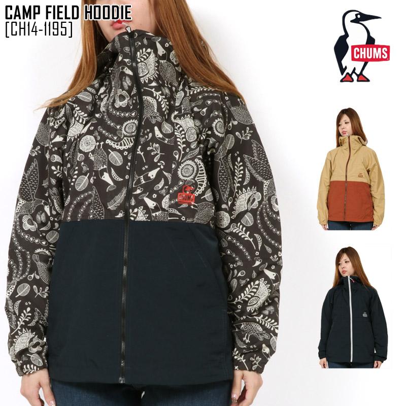 チャムス CH14-1195 キャンプ フィールド フーディ CAMP FIELD HOODIE マウンテンパーカー アウター レディース