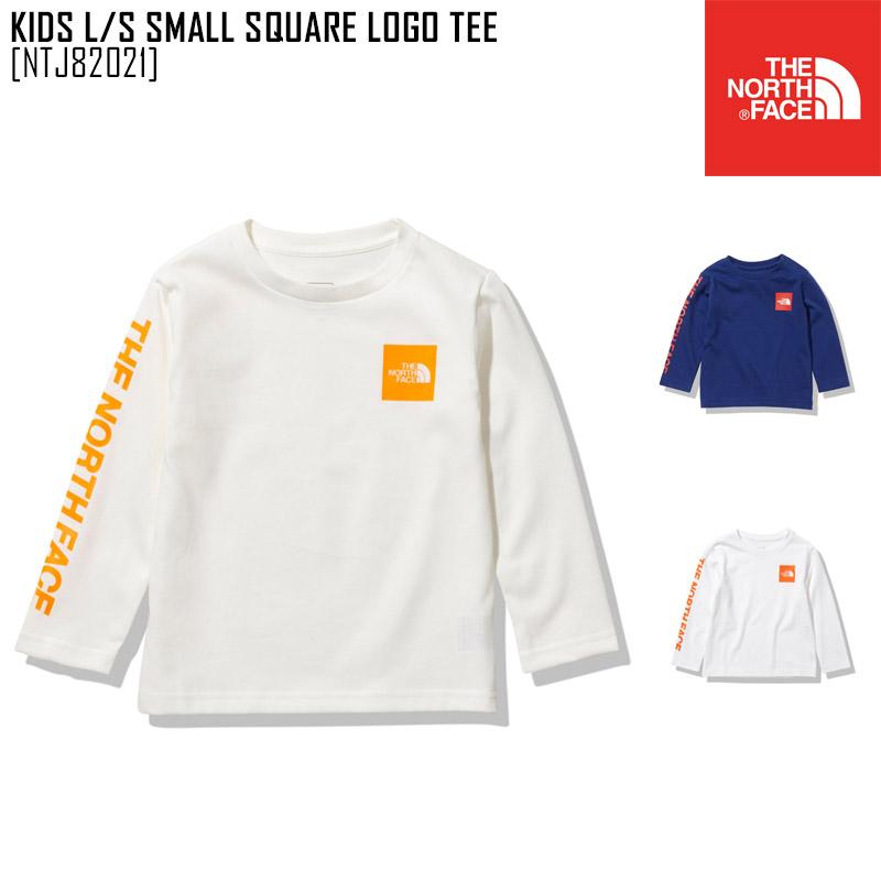 メール便対応 ノースフェイス THE NORTH FACE キッズ Tシャツ トップス セール SALE ロングスリーブ スモール ティー 迅速な対応で商品をお届け致します SQUARE LOGO S スクエア NTJ82021 贈答 L ロゴ Tシャツトップス TEE KIDS SMALL