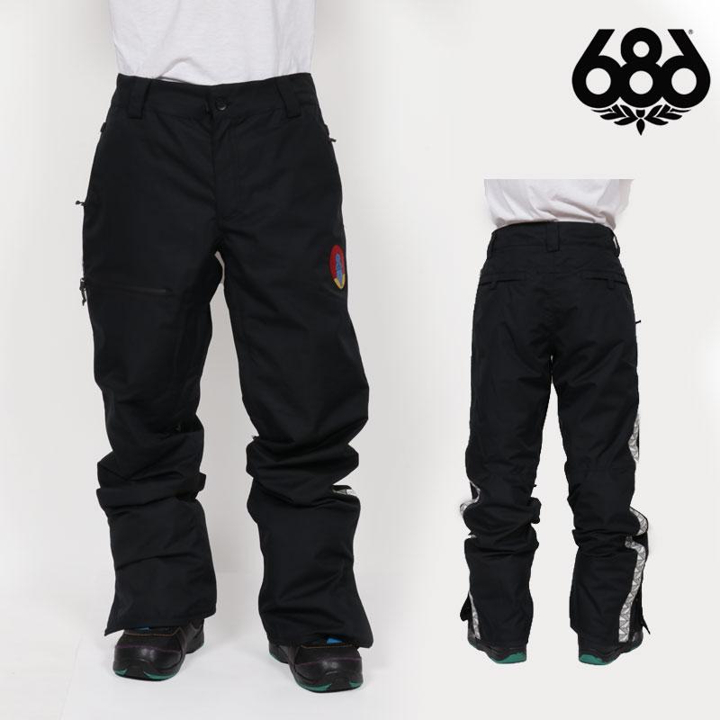 予約商品 18-19 新作 686 SIX EIGHT SIX パンツ TRACK PANT ウェア スノボ L8W212 メンズ