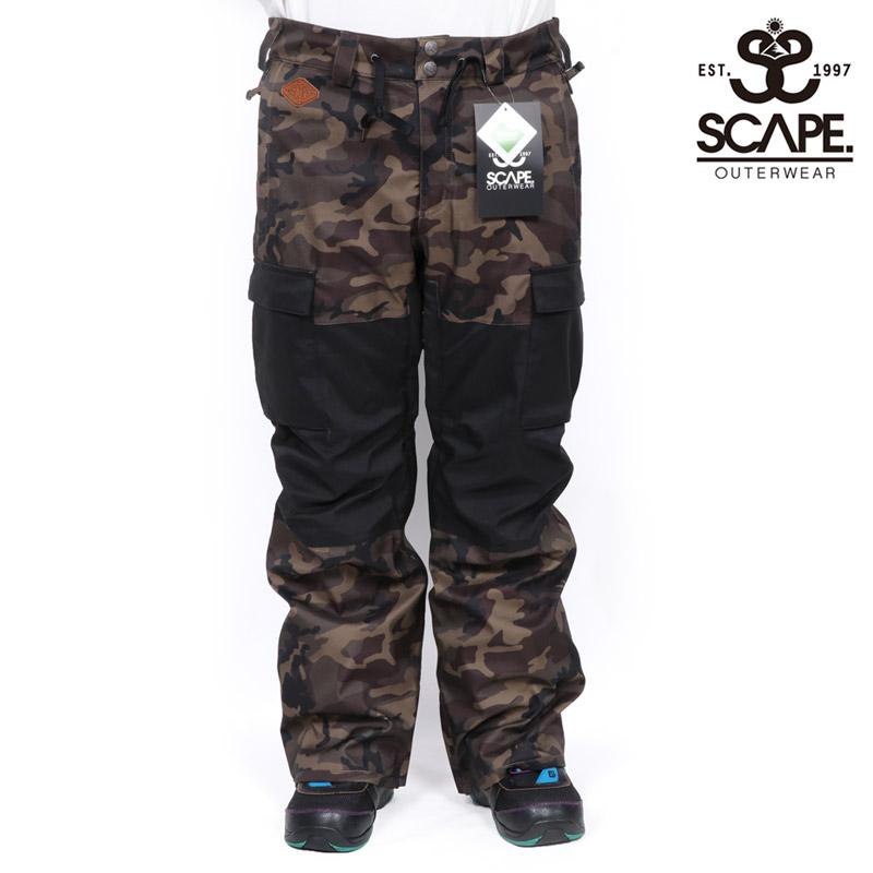 45%OFF セール SALE SCAPE エスケープ スティングレイ パンツ STINGRAY PANTS メンズ スノーボードウェア スノボ