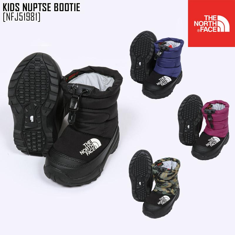 秋冬新作 ノースフェイス THE NORTH FACE NFJ51981 キッズ ヌプシ ブーティー VI KIDS NUPTSE BOOTIE VI ブーツ 靴