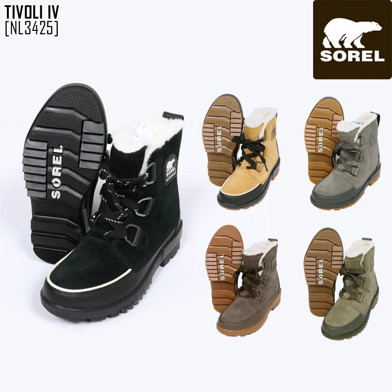 秋冬新作 ソレル SOREL ティボリ IV TIVOLI IV 靴 ブーツ NL3425 レディース