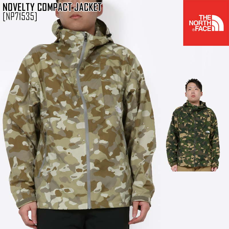 春夏新作 ノースフェイス THE NORTH FACE NP71535 ノベルティー コンパクト ジャケット NOVELTY COMPACT JACKET マウンテンパーカー アウター メンズ