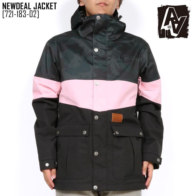 45%OFF セール SALE ダブルエー ハードウェア AA HARDWEAR ニューディール ジャケット NEWDEAL JACKET ウェア スノボ 721-183-02 メンズ