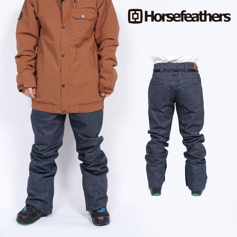 18-19 新作 ホースフェザーズ HORSEFEATHERS ゴースト パンツ GHOST PANTS ウェア スノボ OM243A メンズ