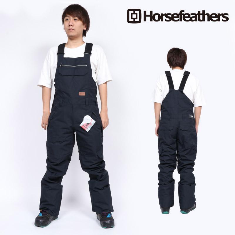 18-19 新作 ホースフェザーズ HORSEFEATHERS ヒューイ パンツ HUEY PANTS ビブパンツ ウェア スノボ OM238E メンズ