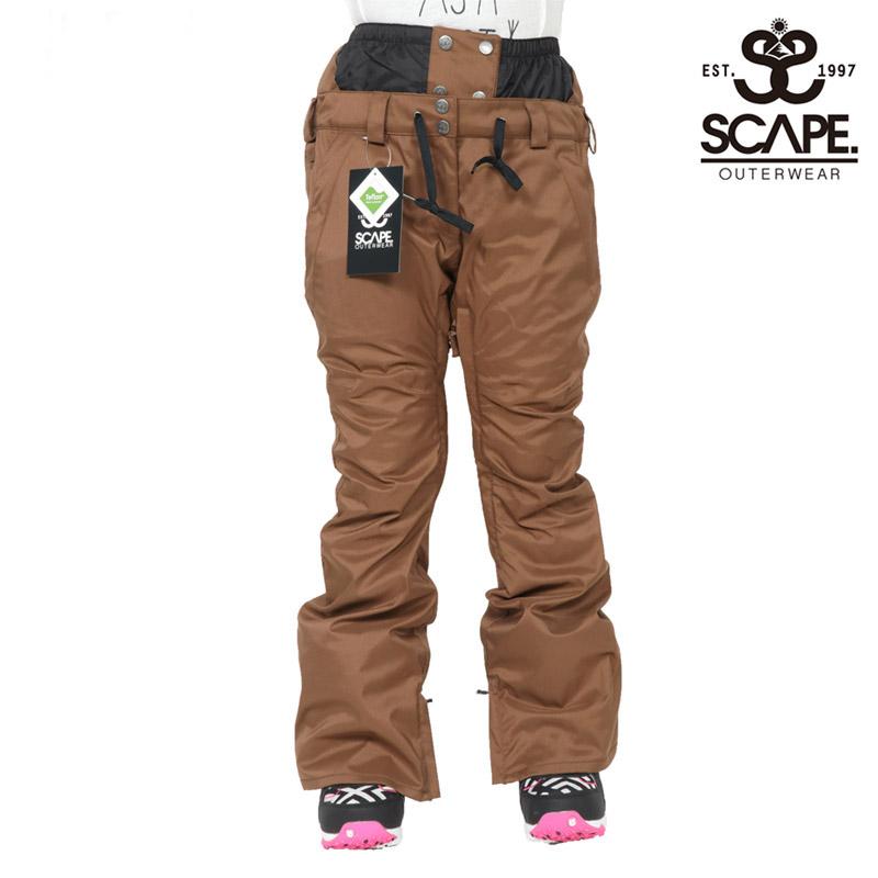 セール SALE エスケープ SCAPE セレス パンツ CELES PANTS ウェア スノボ 711-183-36 レディース