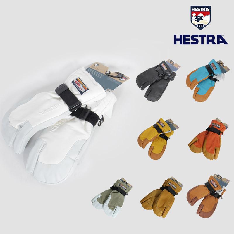 18-19 即日発送 一部予約 ヘストラ HESTRA 3フィンガー フル レザー 3-FINGER FULL LEATHER グローブ スノーボード 30872 メンズ レディース