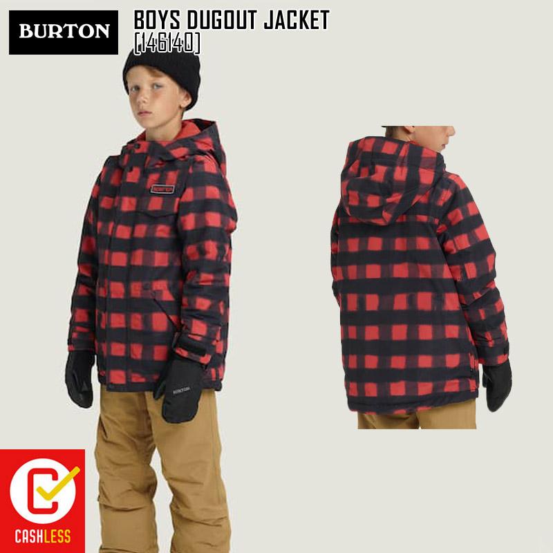 18-19 新作 バートン BURTON ボーイズ タグアウト ジャケット BOYS DUGOUT JACKET ウェア スノボ 146140 キッズ