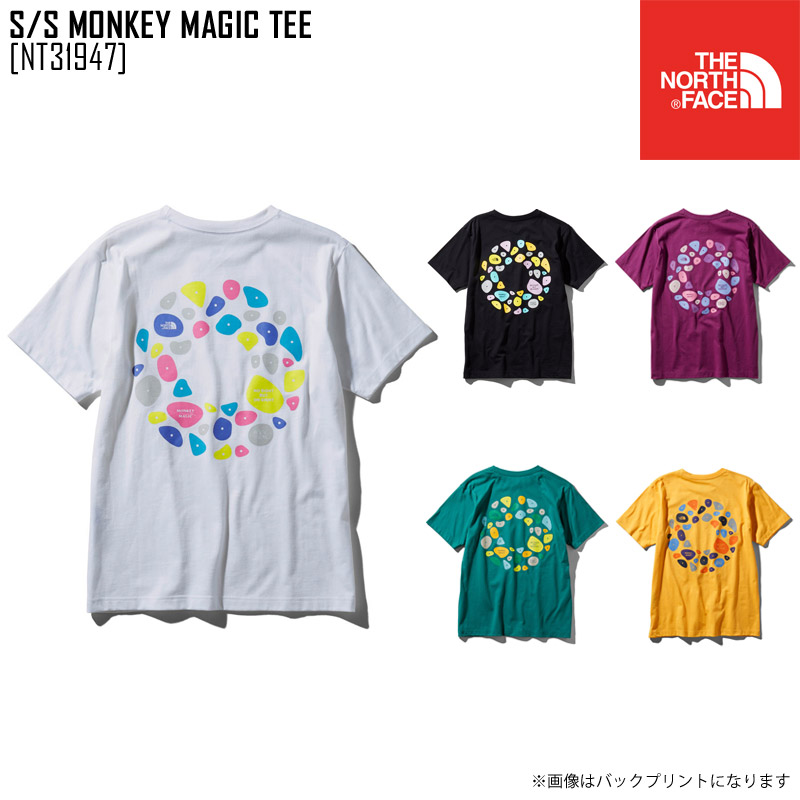 7af4a6fc9 North Face THE NORTH FACE short sleeve monkey magic tea S/S MONKEY MAGIC  TEE T-shirt tops NT31947 men in the spring and summer latest 2019