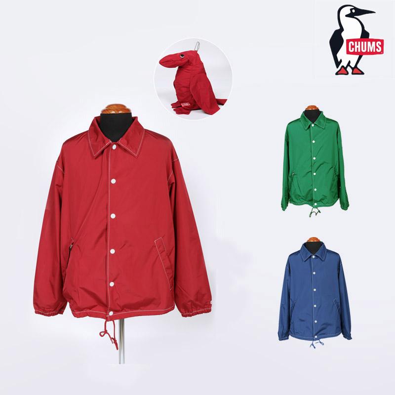 19春夏 新作 チャムス CHUMS ブービー ドール コーチ ジャケット BOOBY DOLL COACH JACKET コーチジャケット アウター CH04-1149 メンズ
