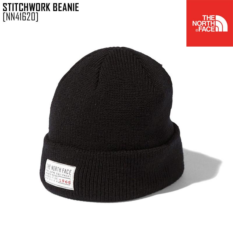 セール SALE ノースフェイス THE NORTH FACE スティッチワーク ビーニー STITCHWORK BEANIE 帽子 ニットキャップ NN41620 メンズ レディース