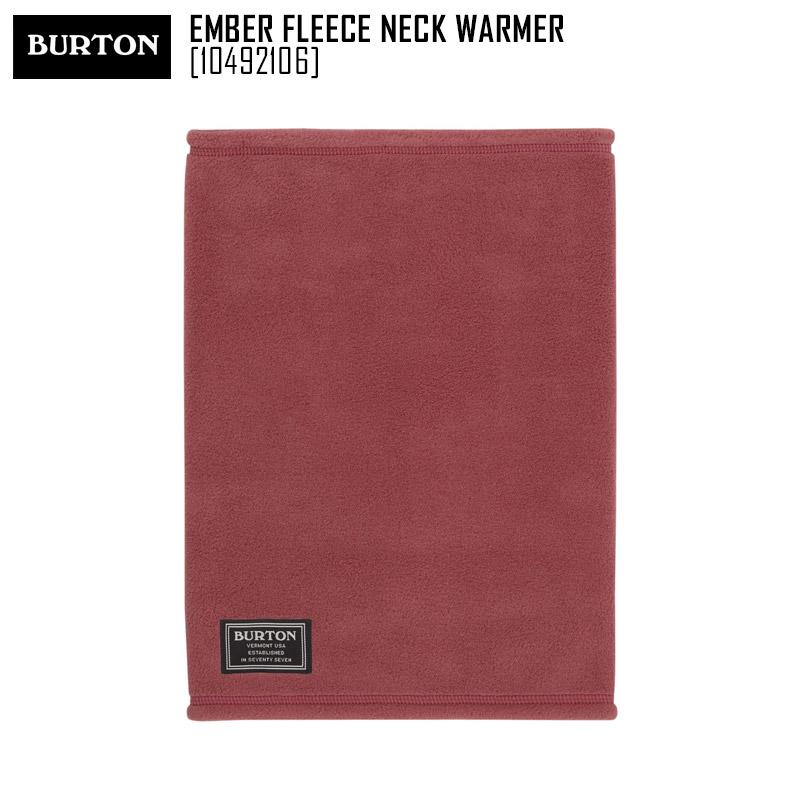 セール SALE 19-20 バートン BURTON エンバー フリース ネックウォーマー EMBER FLEECE NECK WARMER ネックウォーマー フェイスマスク 10492106 メンズ