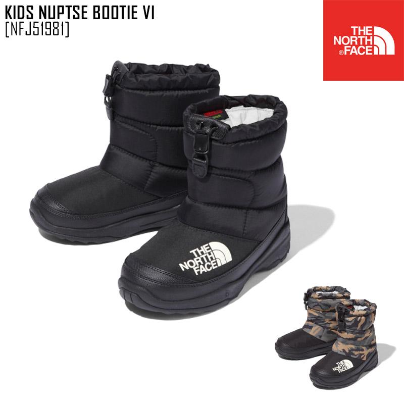 ノースフェイス THE NORTH FACE キッズ ブーツ 靴 セール KIDS VI SALE 35%OFF ブーティー ヌプシ NFJ51981 祝開店大放出セール開催中 NUPTSE BOOTIE