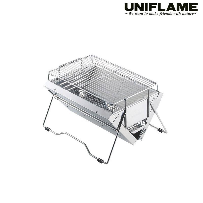 ユニフレーム UNIFLAME ユニセラTG-III 615010 シルバー アウトドア グリル BBQ 焼肉