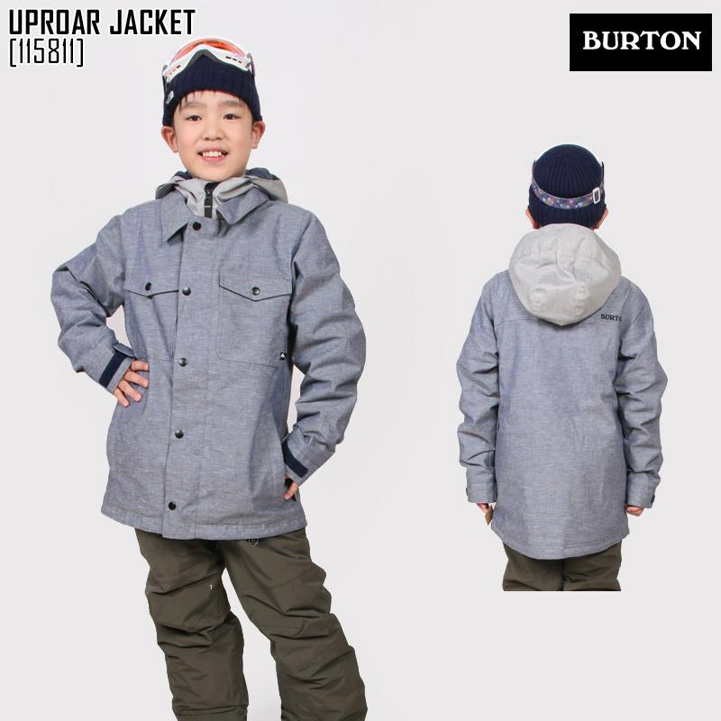 バートン BURTON ボーイズ アップロー ジャケット BOYS' UPROAR JACKET スキー スノボ ウェア ジャケット 115811 キッズ 男の子