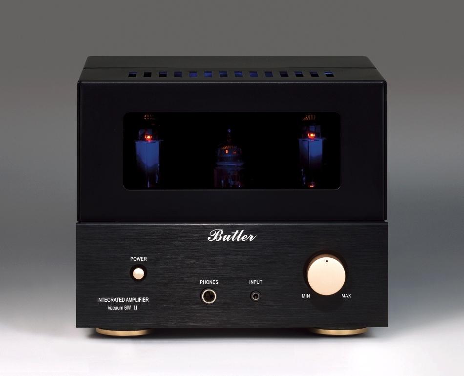 Butler バトラー 真空管アンプ Vacuum2 6Wデザイン一新、ヘッドフォン端子を装備入力段EC83(12AX7)×1 出力段EL84(6BQ5)×2オール真空管プリメインアンプ Butler バトラー 真空管アンプ Vacuum2 6W MK2 ヘッドフォン端子付き 入力段にEC83(12AX7)×1 出力段にEL84(6BQ5)×2 オール真空管のプリメインアンプ