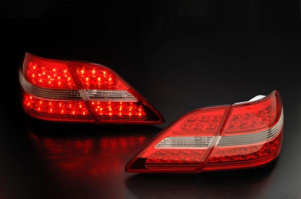 トヨタ セルシオ UCF30・31用 2000/08~2003/07(H12/08~H15/07)CLEAR WORLD(クリアワールド) LEDコンビテールランプ(レッド/クリアレンズ) RTT-22テールランプ テールレンズ P01Jul16