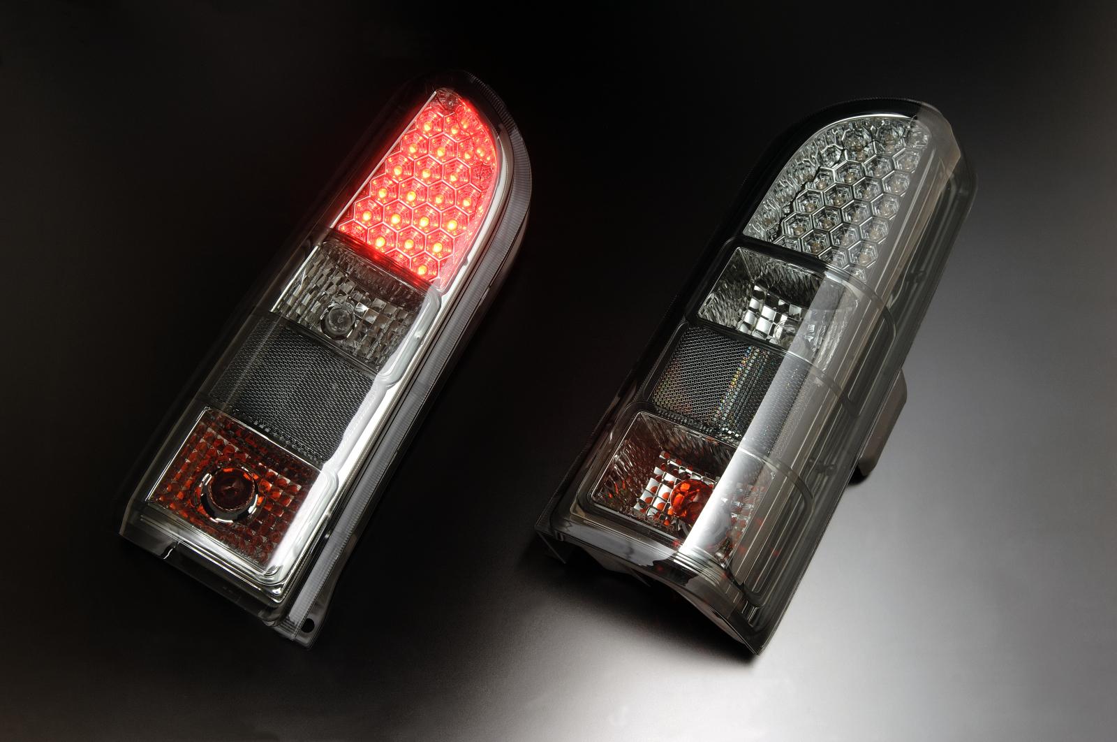 スズキ エブリー DA52・DA62/DB52用 1999/01~2005/08 (H11/01~H17/08)クリアワールド LEDクリアテールランプ CTS-16 テールランプ テールレンズ