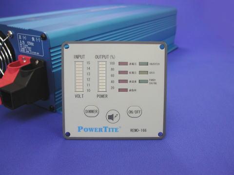 未来舎製正弦波DC-ACインバーター FI-S1003/1503/3003用高機能リモコンREMO-166