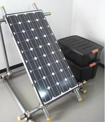 ソーラー発電お手軽パッケージ(架台付き)システム2【マラソン201302_日用品】Marathon05P02feb13