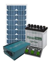 ソーラー発電入門用セットシステム1