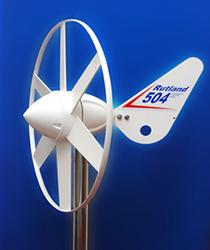 [WG504]小型でもしっかり発電!定格出力25W風力発電機
