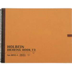 メーカー希望小売価格 ホルベイン スケッチブック 商舗 R画用紙 No.30シリーズ YK-1 アーモンド 『1年保証』 22.7×15.8 SM 横開きスプリング