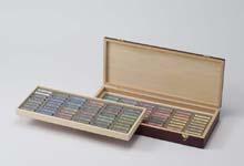 デーラーラウニー ソフトパステル96色木箱セットA 明るいチント1~2を揃えたセット