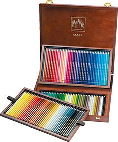 カランダッシュ パブロ 油性色鉛筆 120色木箱セット
