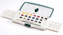 春の新作続々 ラウニー専門家用水彩絵の具 お得クーポン発行中 スライダー20色セット
