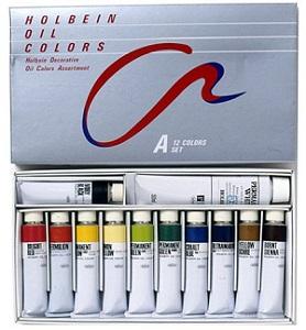 ホルベイン まとめ買い特価 油絵の具 油彩 画材 定価の67%OFF 習作用油絵具セット Aセット 油絵具セット