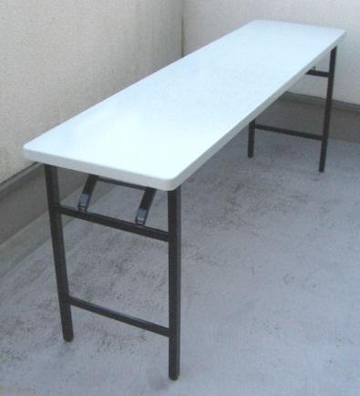 軽量折畳テーブル600幅