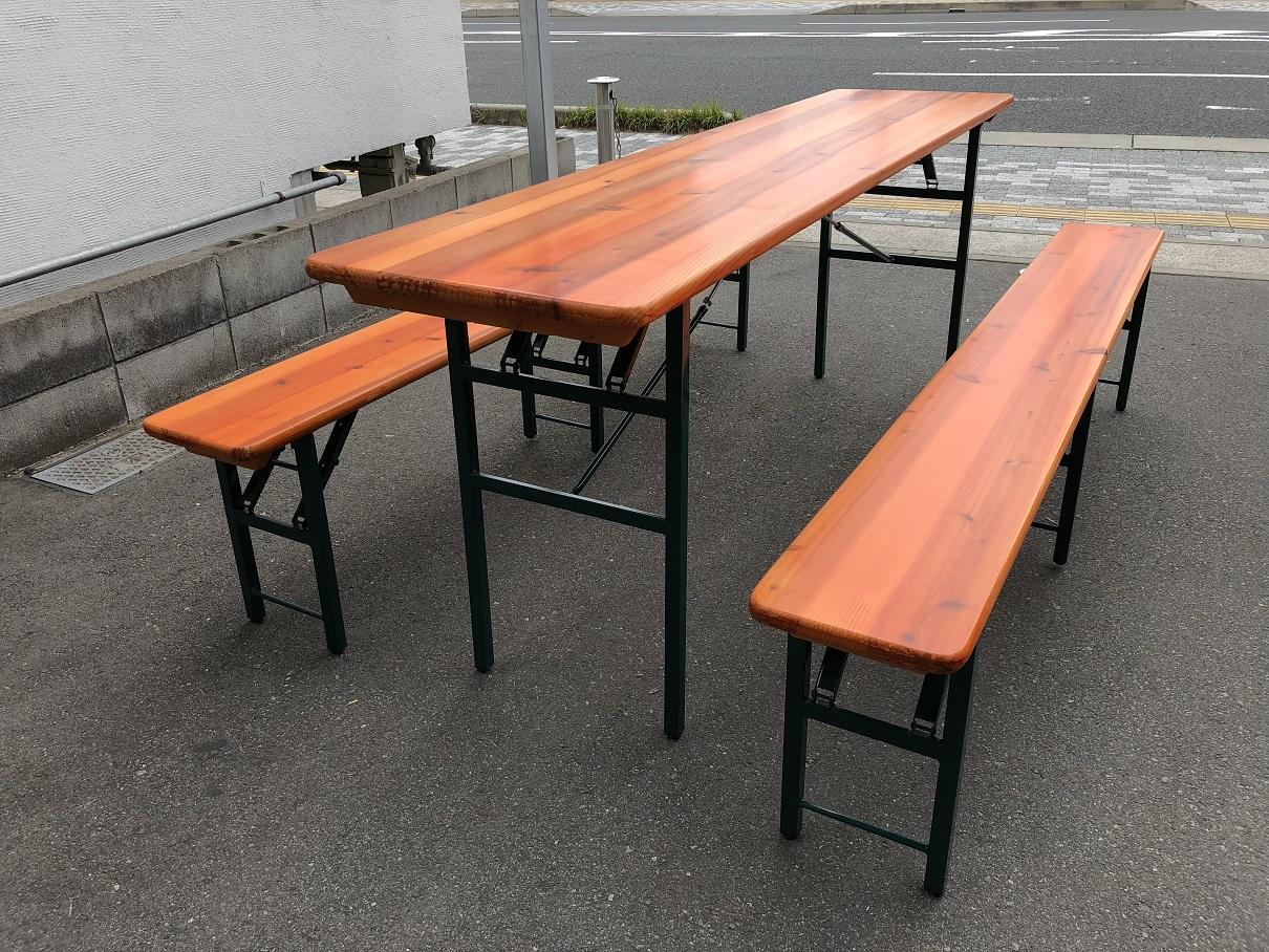 ビアテーブル・ベンチ