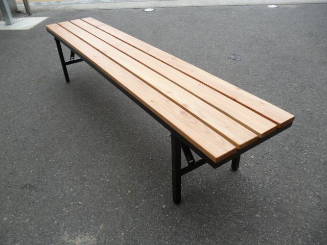 折り畳み天然木ベンチ, 花珠真珠店:5a12e21f --- officewill.xsrv.jp